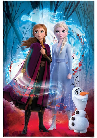 Reinders! Poster »Poster Frozen 2 Anna - Elsa - Olaf - Disney«, Film, (1 St.) kaufen