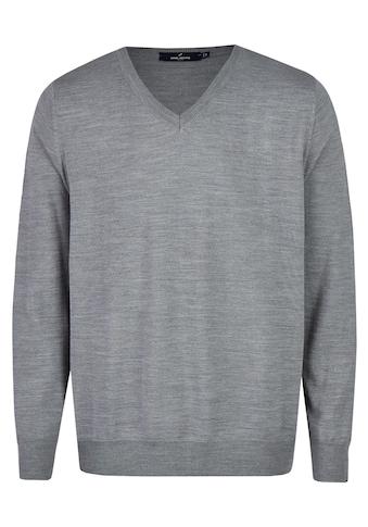 Daniel Hechter V-Ausschnitt-Pullover, im edel-stylischen Look kaufen