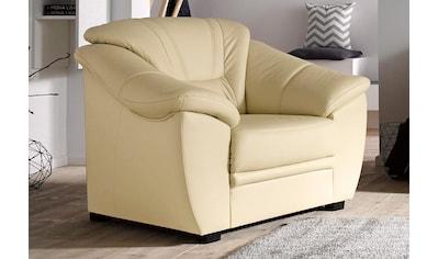 sit&more Sessel, NaturLEDER®, inklusive komfortablem Federkern kaufen