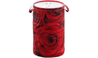 Sanilo Wäschekorb »Rosen«, 60 Liter, faltbar, mit Sichtschutz kaufen