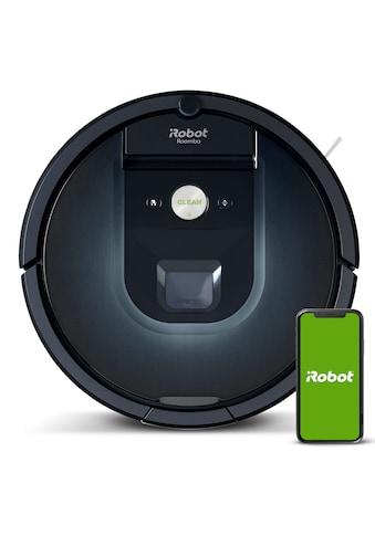 iRobot Saugroboter »iRobot Roomba 981«, mit 10-facher Saugleistung* kaufen