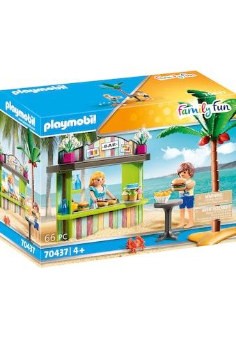Playmobil® Konstruktions-Spielset »Strandkiosk (70437), Family Fun«, ; Made in Germany kaufen
