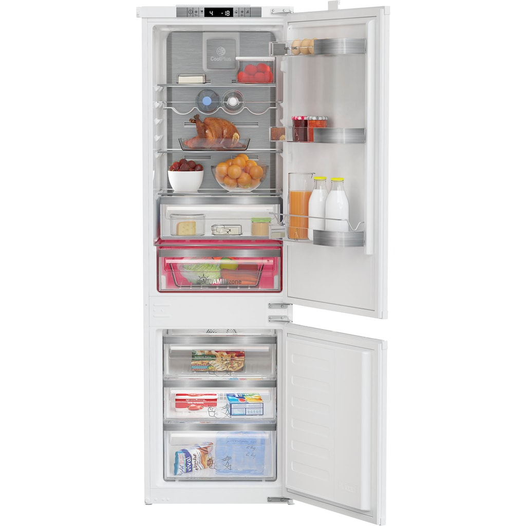 Grundig Einbaukühlgefrierkombination »GKNI 25742 FN«