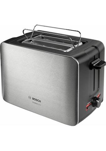 BOSCH Toaster »ComfortLine TAT6A913«, 2 kurze Schlitze, 915 W kaufen
