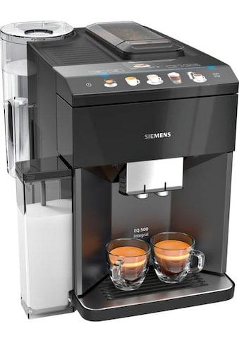 SIEMENS Kaffeevollautomat EQ.5 500 integral TQ505D09, 1,7l Tank, Scheibenmahlwerk kaufen