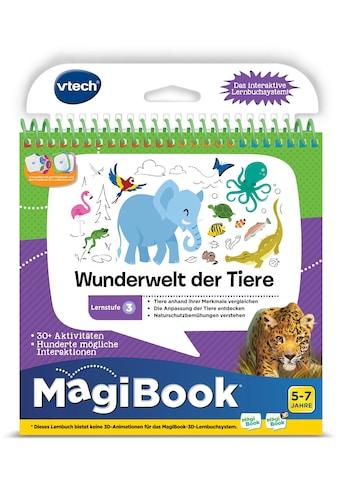 Vtech® Buch »MagiBook Lernstufe 3 - Wunderwelt Tier« kaufen