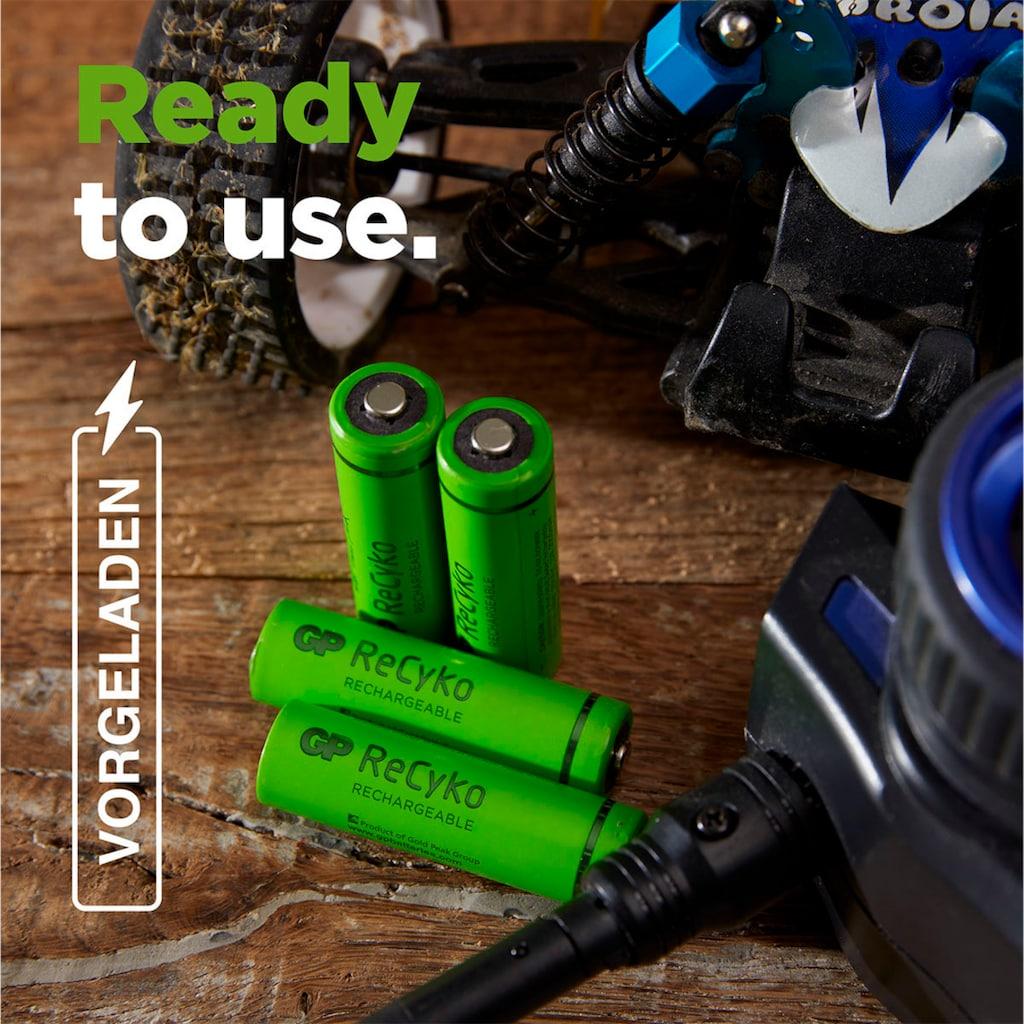 GP Batteries Akku »AA Akku NiMH 2100 mAh ReCyko 1,2V 8 Stück«, Mignon, 2100 mAh