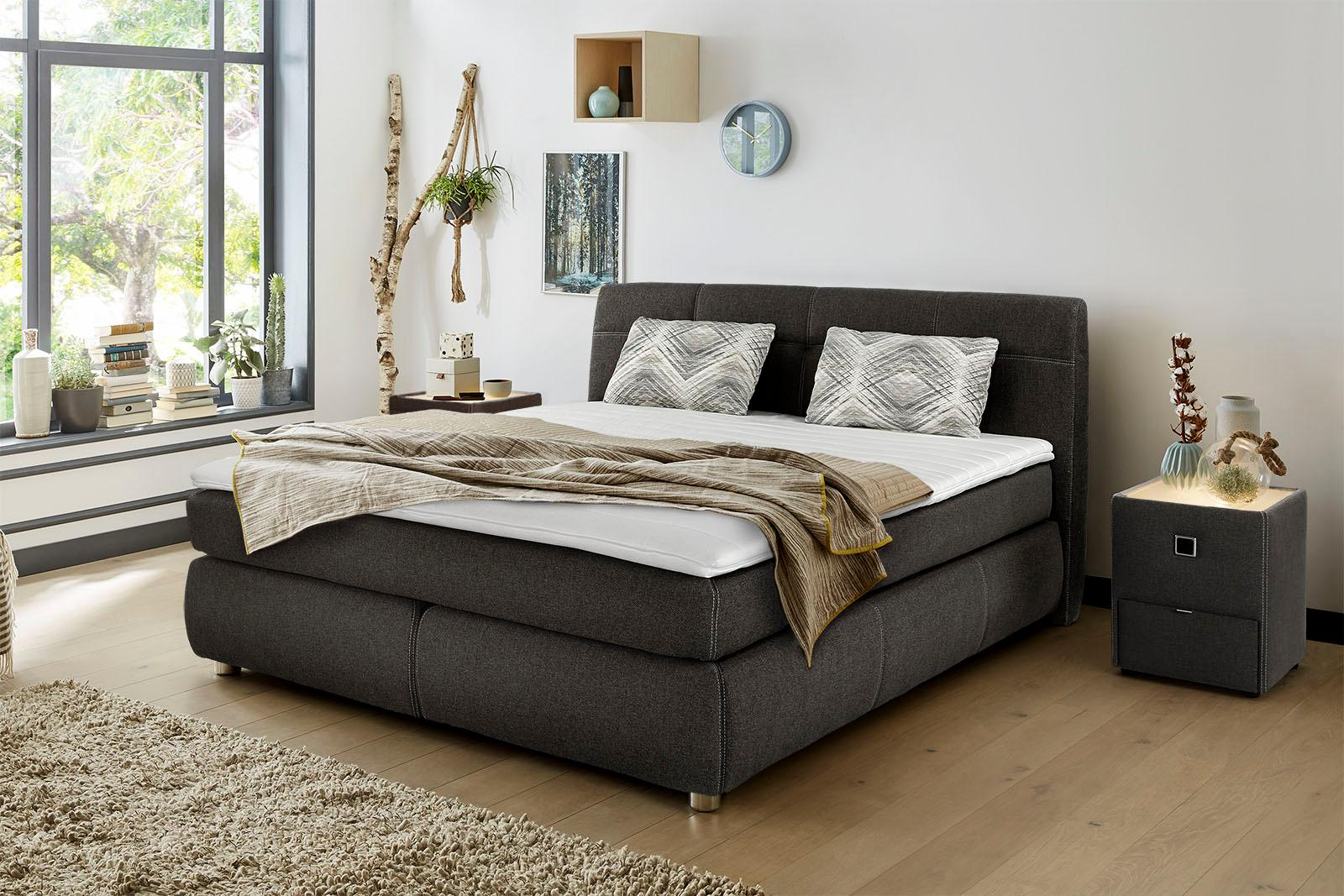 jockenh fer gruppe boxspringbett in h rtegrad 4 mit. Black Bedroom Furniture Sets. Home Design Ideas