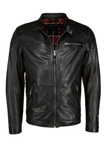MUSTANG Lederjacke »31020238« kaufen