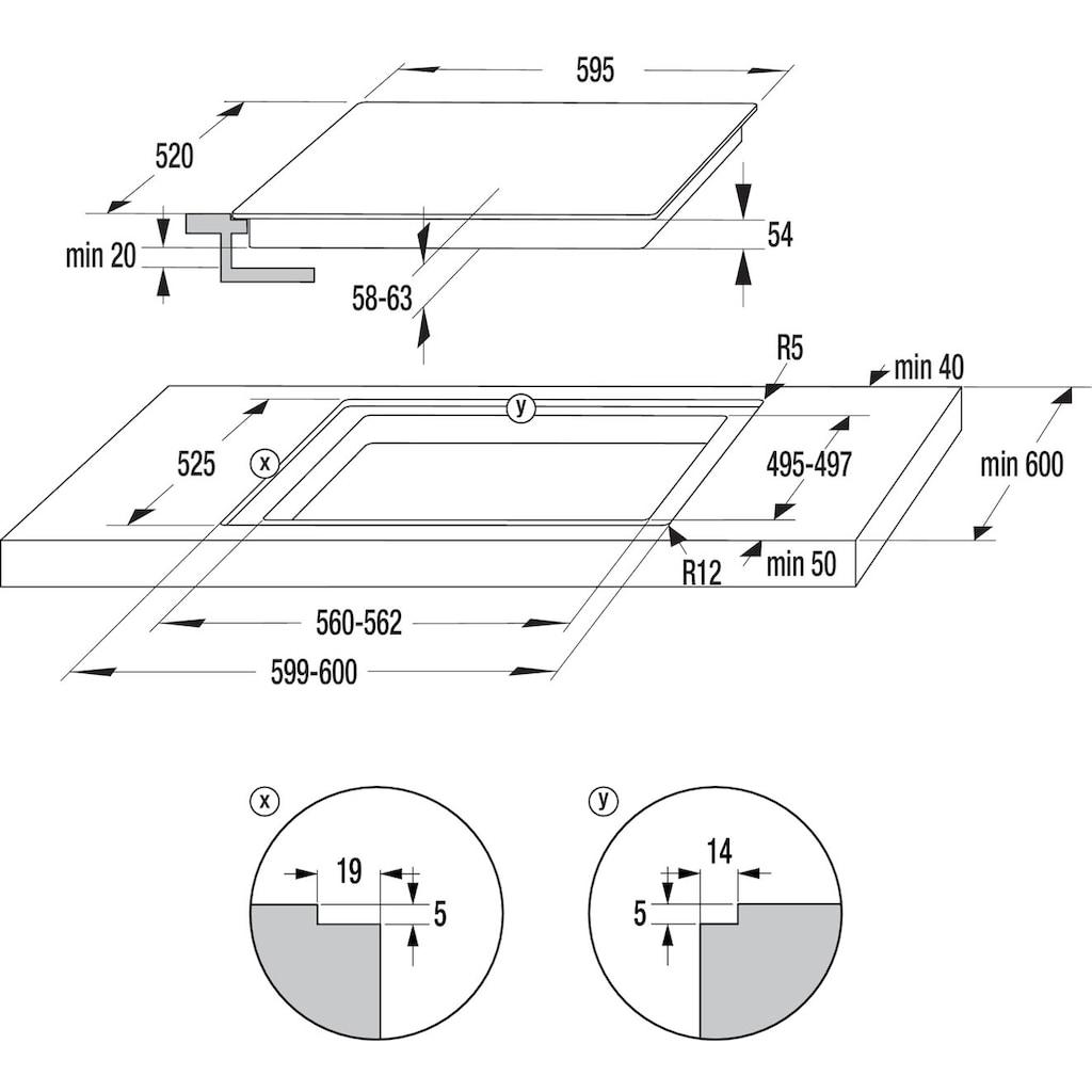 GORENJE Backofen-Set »PACIFIC Pyrolyse Ind«, BOP737E301X, mit 2-fach-Teleskopauszug, Pyrolyse-Selbstreinigung