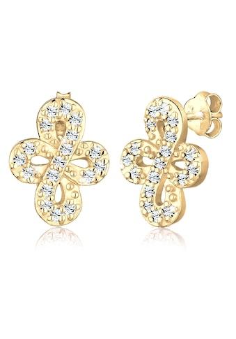 Elli Paar Ohrhänger »Infinity Endless Kristalle 925 Silber« kaufen
