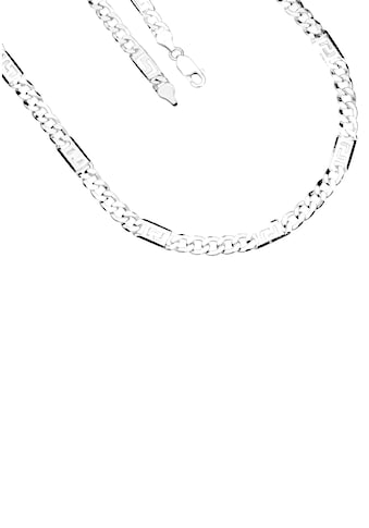 Firetti Silberkette »Glanz, 2-fach diamantiert, langes Kettenglied mit Mäanderdesign« kaufen