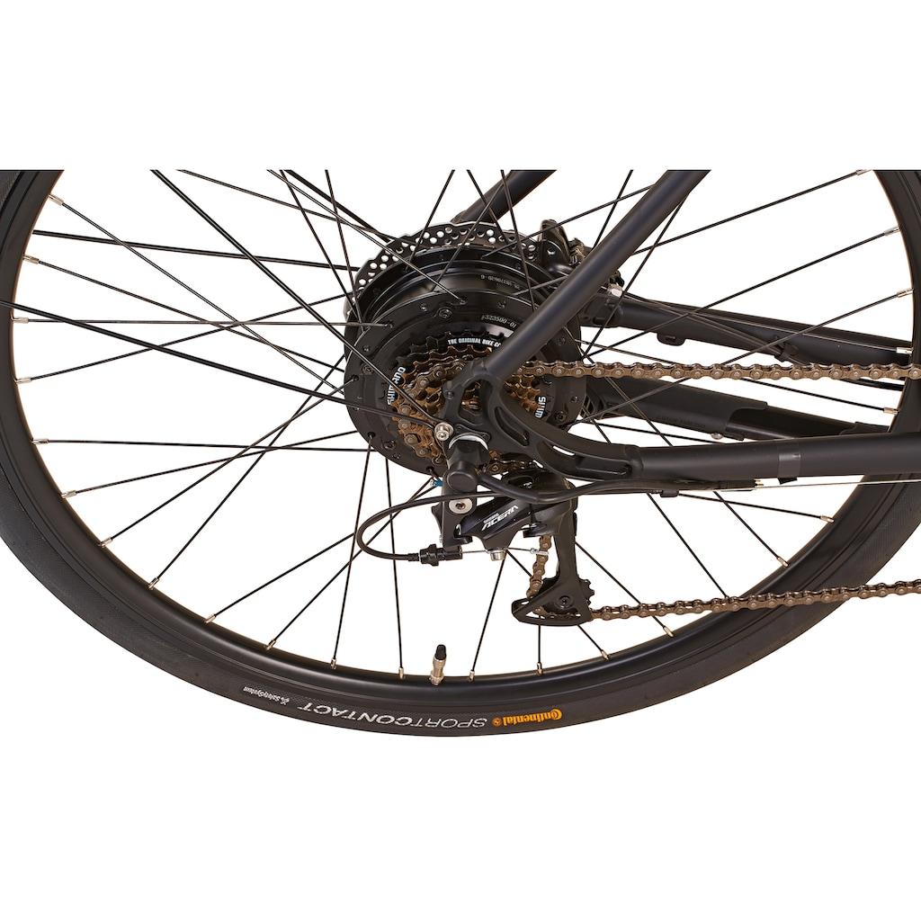 """Prophete E-Bike »21.EMU.10 Herren City E-Bike 28""""«, 8 Gang, Shimano, Alivio, Frontmotor 250 W"""