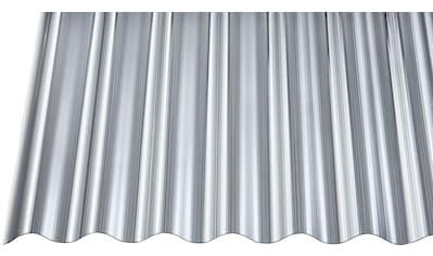 GUTTA Wellplatte Polycarbonat anthrazit, BxL: 90x200 cm kaufen