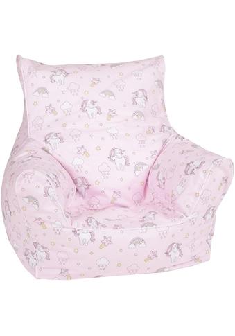 Knorrtoys® Sitzsack »Rainbow Unicorn«, für Kinder; Made in Europe kaufen