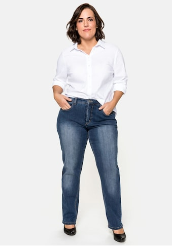 Sheego Stretch-Jeans, Bauch-weg-Effekt kaufen