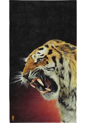 Seahorse Strandtuch »Khan«, (1 St.), mit Tiger Aufdruck kaufen