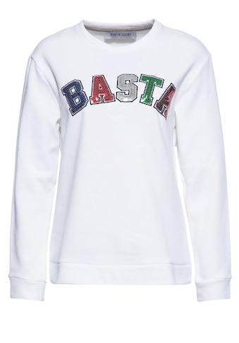Way of Glory Sweater, mit Pailletten in der Front kaufen