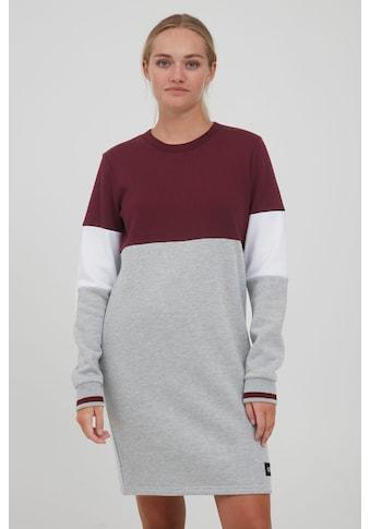 OXMO Sweatkleid »Sweat Dress Omila 21300659ME«, Sweatkleid in Colourblock-Optik kaufen