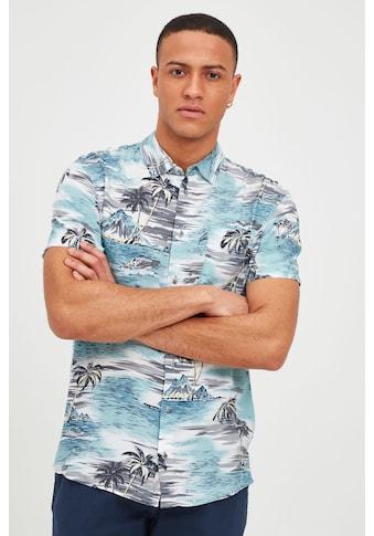 Blend Kurzarmhemd »Blend Herren Hemd Kurzarm mit Print«, Kurzarm Hemd mit Print kaufen