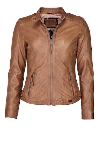 MUSTANG Lederjacke »Jeannette« kaufen