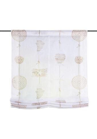 Vision S Raffrollo »COCOA«, mit Klettband, freihängend kaufen