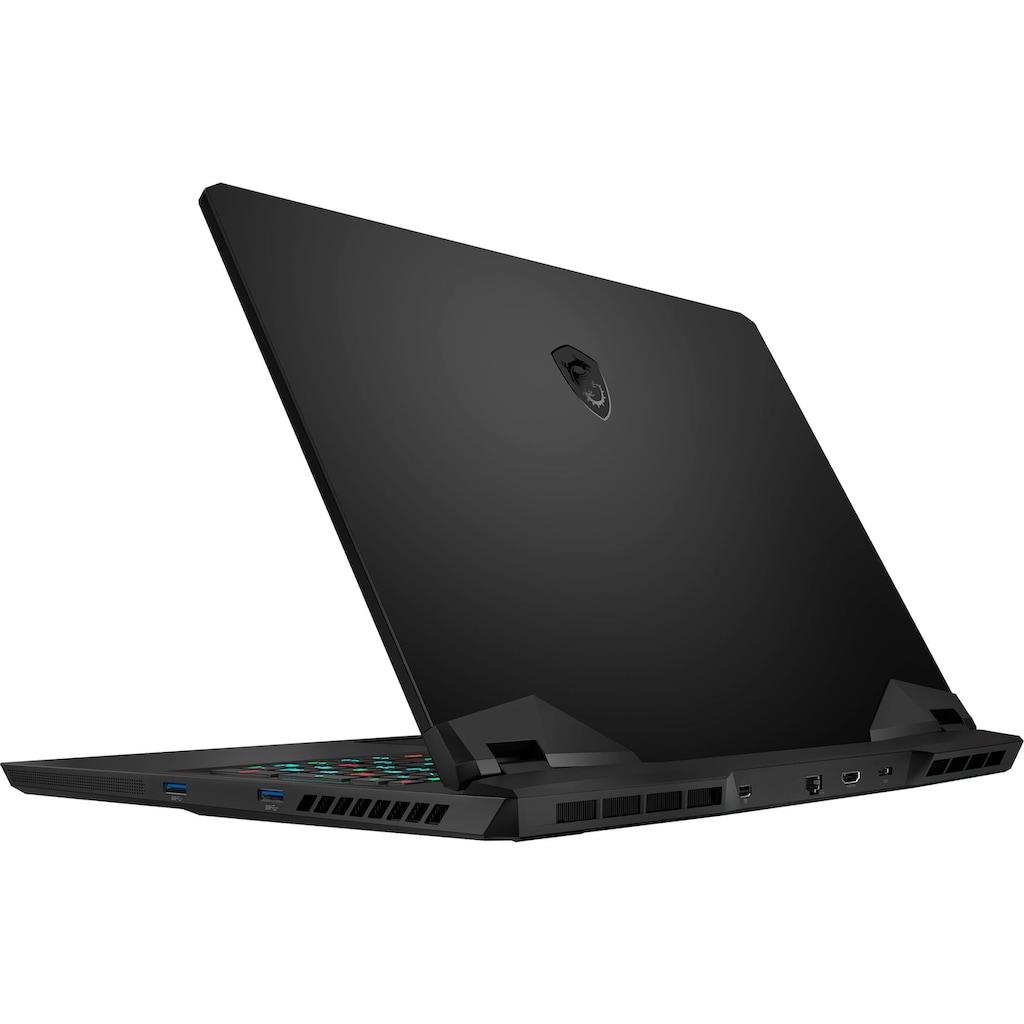 "MSI Notebook »GP76 Leopard 11UG-240«, (43,9 cm/17,3 "" Intel Core i7 RTX,™ 3070\r\n 1000 GB SSD), Kostenloses Upgrade auf Windows 11, sobald verfügbar"