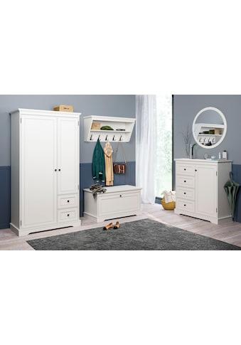 Home affaire Garderobenschrank »Bigge«, mit 2 Türen und 2 Schubladen kaufen
