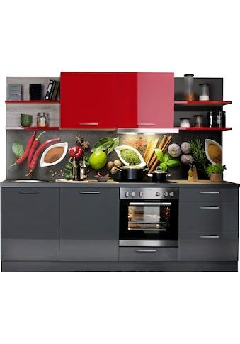 Express Küchen Küchenzeile »Jena«, mit E-Geräten, vormontiert, mit... kaufen