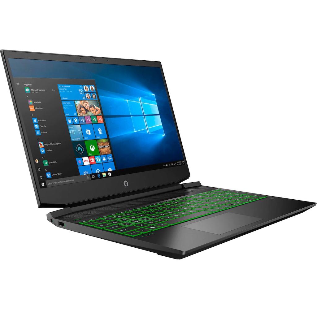 """HP Notebook »Pavilion - 15-ec1234ng«, (39,6 cm/15,6 """" AMD Ryzen 5 GeForce GTX 1650\r\n 512 GB SSD), Kostenloses Upgrade auf Windows 11, sobald verfügbar"""