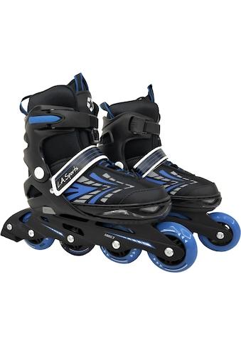 L.A. Sports Inlineskates »Inliner Skate Softboot Kinder Jugendliche Größenverstellung 5 Größen verstellbar« kaufen