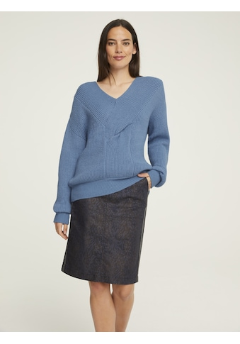 Pullover mit Knoten - Optik kaufen