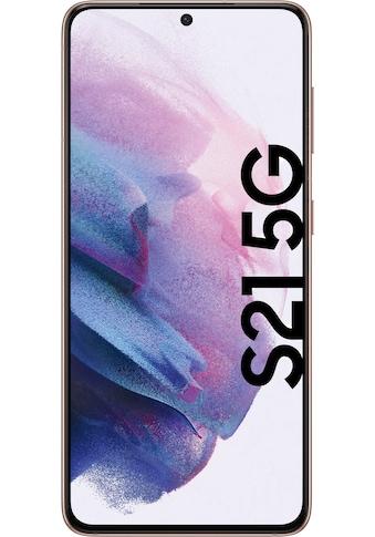 """Samsung Smartphone »Galaxy S21 5G«, (15,84 cm/6,2 """", 256 GB Speicherplatz, 64 MP... kaufen"""