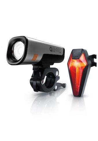 Aplic Fahrradbeleuchtung »2600 mAh Vorne & 180 mAh hinten / 40 Lux«, mit Frontlicht &... kaufen