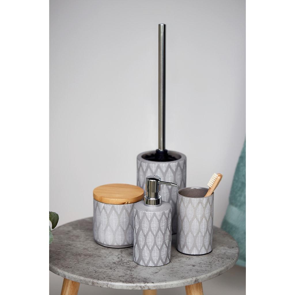 WENKO WC-Garnitur »Tupian«, Keramik
