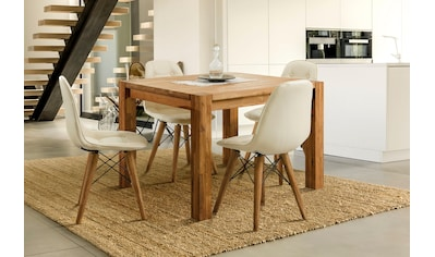 Home affaire Essgruppe »Tim«, (Set, 5 tlg.), bestehend aus 4 Stühlen und einem... kaufen
