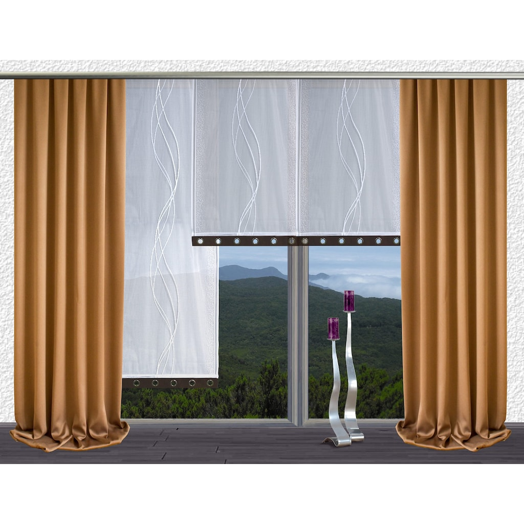 VHG Vorhang nach Maß »Ben«, Breite 140 cm