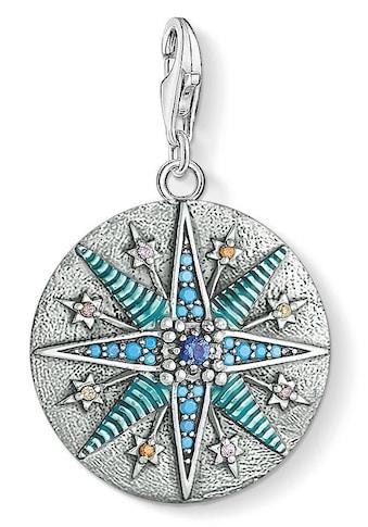 """THOMAS SABO Charm-Einhänger »Charm-Anhänger """"Vintage Stern"""", 1715-845-7«, mit Zirkonia... kaufen"""