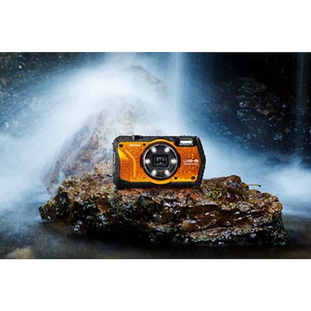 Ricoh Outdoor-Kamera »WG-6«, RICOH Objektiv, 11 Elemente in 9 Gruppen (5 asphärische Elemente)