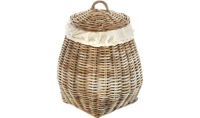 locker Wäschekorb »Pear«, mit abnehmbarem Deckel kaufen