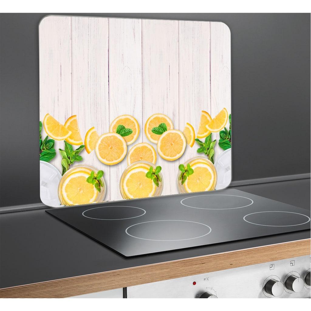 WENKO Herd-Abdeckplatte »Zitronen«
