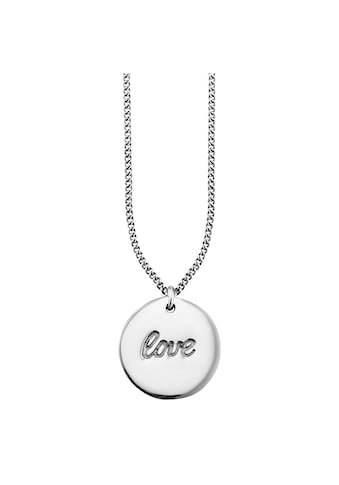 CAÏ Anhänger mit Kette »925/ -  Sterling Silber rhodoniert LOVE« kaufen