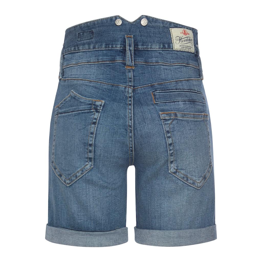 Herrlicher Jeansshorts »PITCH HI SHORTY«, im Boyfriend-Look