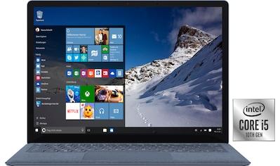 "Microsoft Notebook »Surface Laptop 4«, (34,29 cm/13,5 "" Intel Core i5 UHD Graphics\r\n... kaufen"