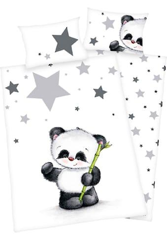 Baby Best Babybettwäsche »Panda«, mit niedlichem Motiv kaufen