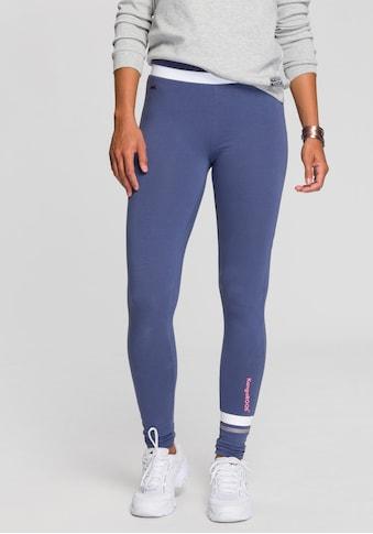KangaROOS Leggings, mit breitem Rippenbund & Kontraststreifen kaufen