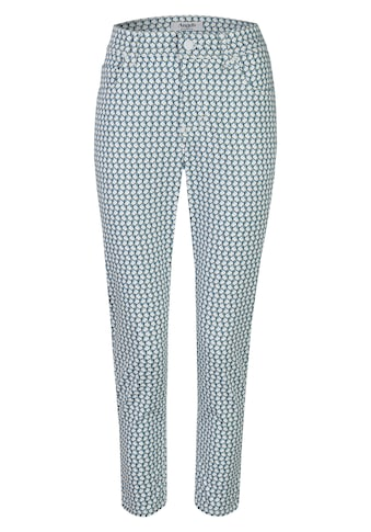 ANGELS Ankle-Jeans, mit geometrischem Allover-Muster kaufen
