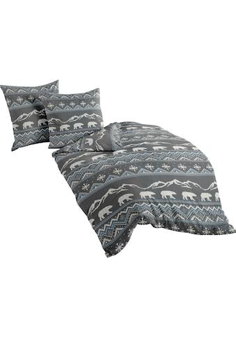 BIERBAUM Bettwäsche »Eisbär«, mit winterlichen Motiven kaufen