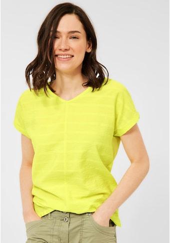Cecil V-Shirt, im Streifendesign kaufen