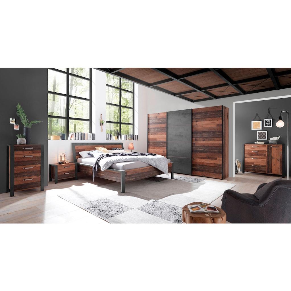 Schlafkontor Nachtkommode »Michel«, im Industrial Look